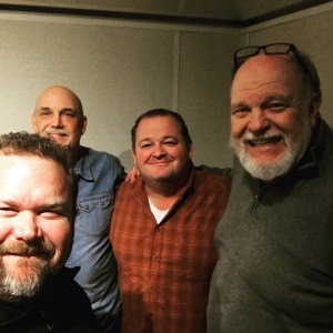 Don Pryor and I after taping our new Dining Out Austin podcast with guest Jeff Barnett from Pacific Star and Oyster Bar and our pal Todd Jeffries.