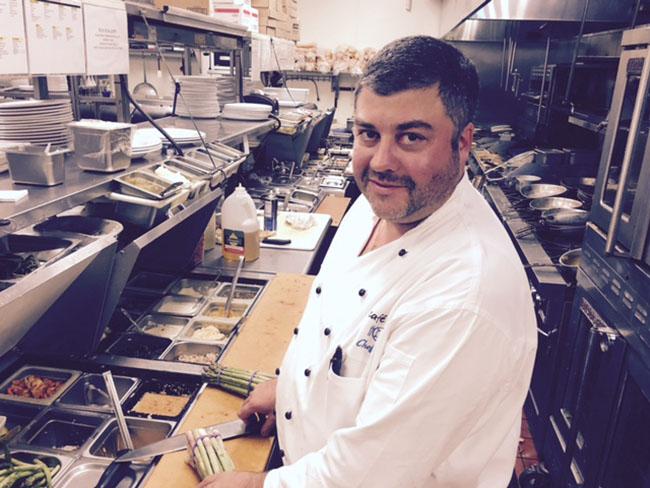 Chef Ben Nathan Café Blue Austin Texas