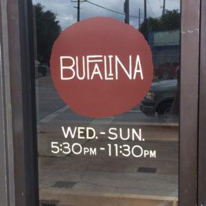 Bufalina Autin Texas Pizza