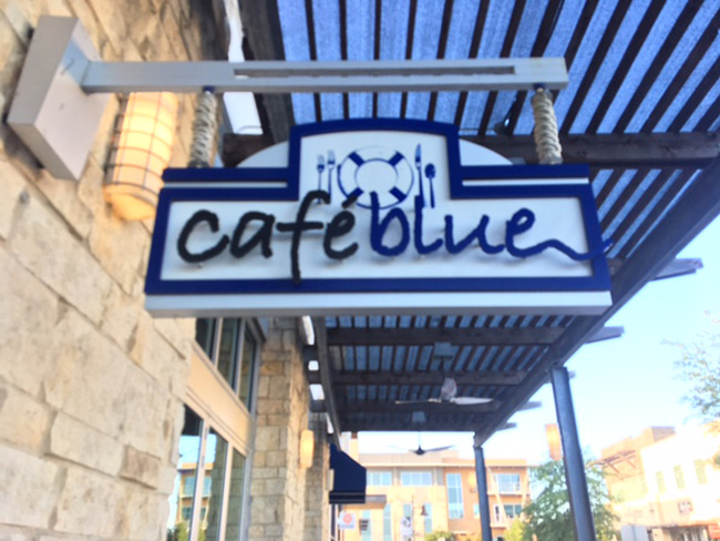 Cafe Blue Bee Cave Austin TX Hill Country Galleria