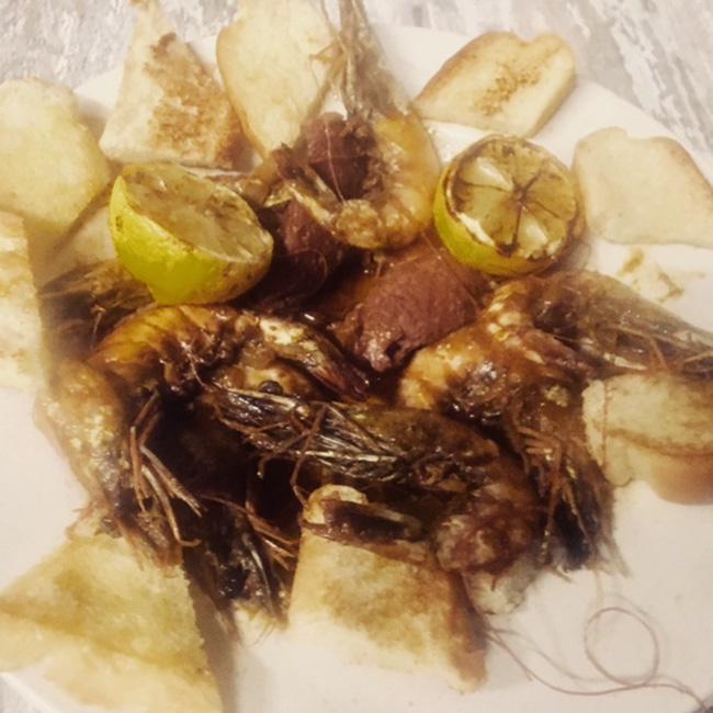 BBQ Shrimp Gnarly Gar seafood restaurant Austin Texas