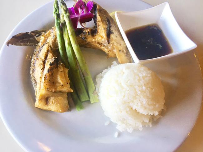 The Hamachi Kama EurAsia Sushi Bar & Seafood Austin TX