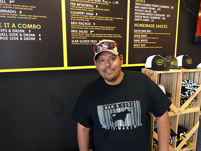 Slab BBQ Pitboss and Founder Mark Avalos